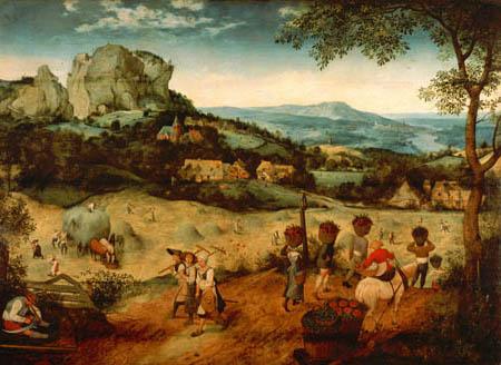 Pieter Brueghel the Elder - The hay harvest