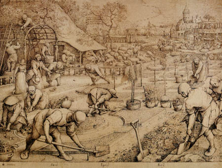 Pieter Brueghel the Elder - Spring