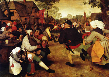 Pieter Brueghel the Elder - Farmer dance