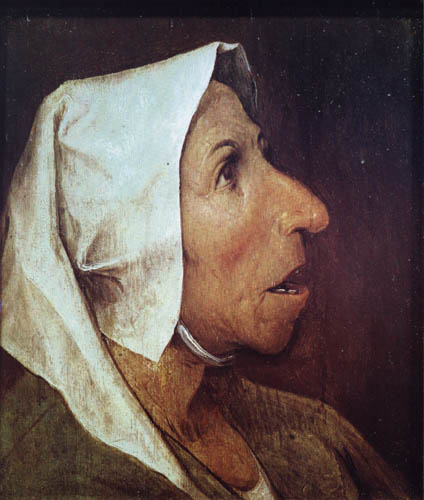Pieter Brueghel the Elder - A old farmer´s wife