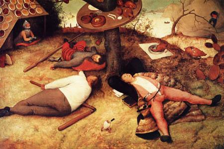 Pieter Brueghel the Elder - Schlaraffenland