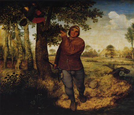 Pieter Brueghel the Elder - Vogeldieb