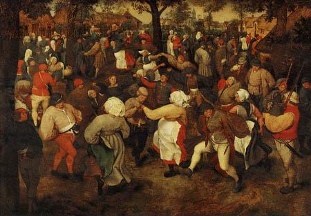Pieter Brueghel the Elder - The dance of the farmers