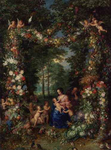 Jan Brueghel the Elder - The holy family