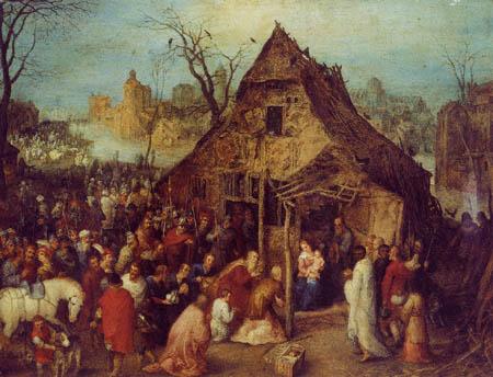Jan Brueghel the Elder - Adoration of the holy kings