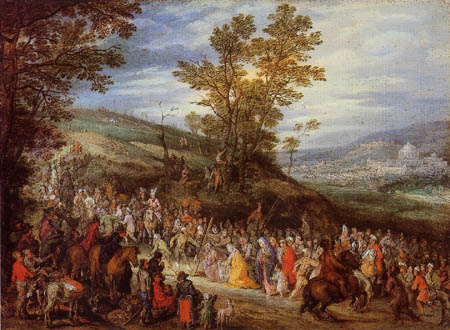 Jan Brueghel the Elder - Cruciferous Christ
