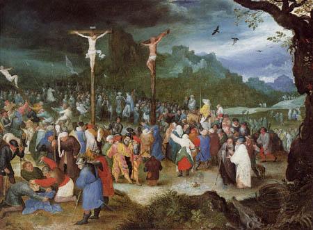 Jan Brueghel the Elder - Crucifixion