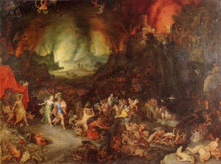 Jan Brueghel el Viejo - Sybille in der Hölle