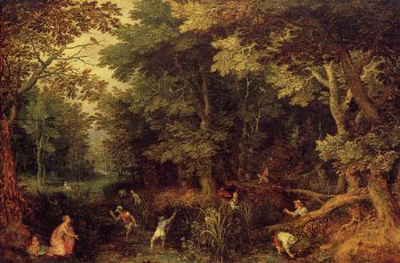 Jan Brueghel der Ältere - Ländliche Szene