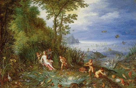 Jan Brueghel the Elder - Allegorie of the water