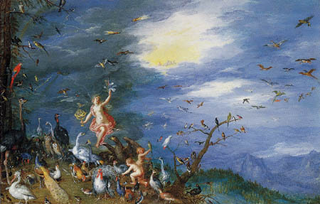 Jan Brueghel der Ältere - Allegorie der Luft