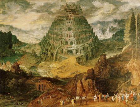 Jan Brueghel der Ältere - Der Turmbau zu Babel