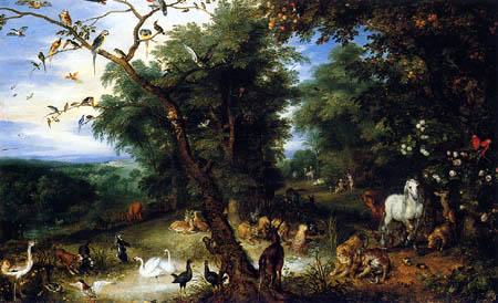 Jan Brueghel the Elder - The original sin