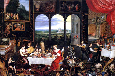 Jan Brueghel der Ältere - Allegorie der Sinne
