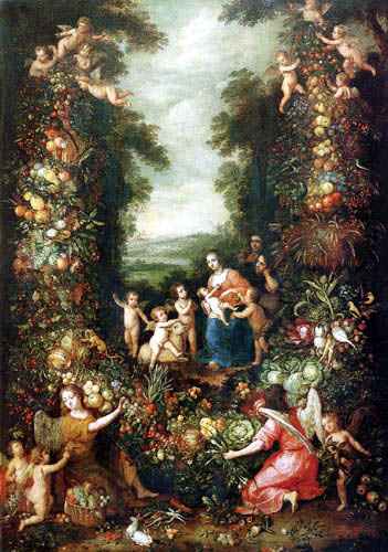 Jan Brueghel the Younger - The Holy Family