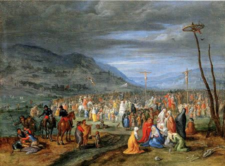 Jan Brueghel the Younger - Calvary