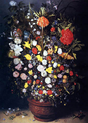 Jan Brueghel the Younger - Still Life with Flowers
