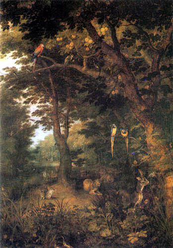 Jan Brueghel the Younger - The Earthly Paradise
