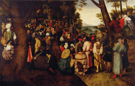Pieter Brueghel the Younger - Preaching of John the Baptist