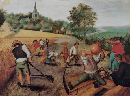 Pieter Brueghel the Younger - The Summer