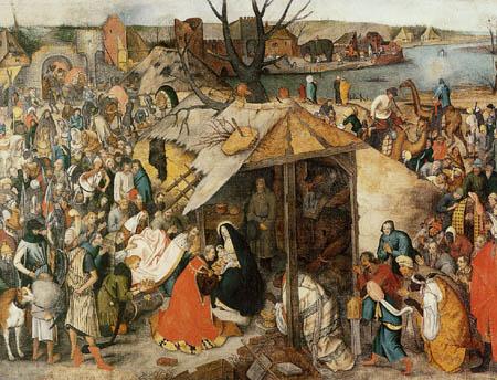 Pieter Brueghel der Jüngere - Die Anbetung der Könige