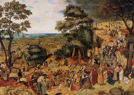 Pieter Brueghel the Younger - Christ on the road to Calvary