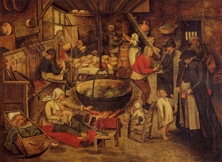 Pieter Brueghel the Younger - Visit on the poors and sicks