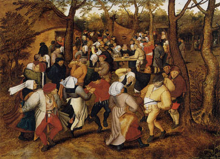 Pieter Brueghel the Younger - Dance of the farmers