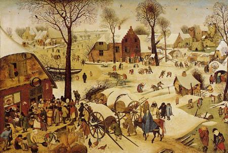Pieter Brueghel the Younger - Census of Bethlehem