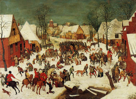 Pieter Brueghel the Younger - Massacre of the Innocents at Bethlehem