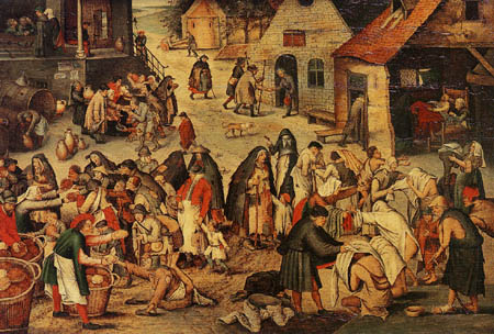 Pieter Brueghel the Younger - The works of the mercy II