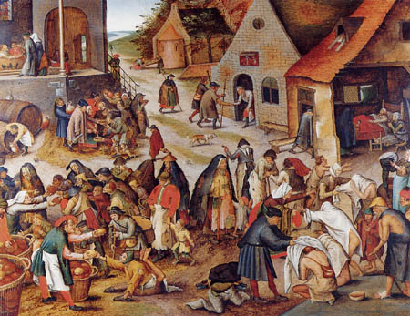 Pieter Brueghel the Younger - The works of the mercy III