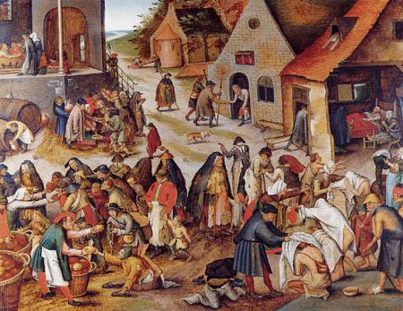 Pieter Brueghel der Jüngere - Die Werke der Barmherzigkeit III