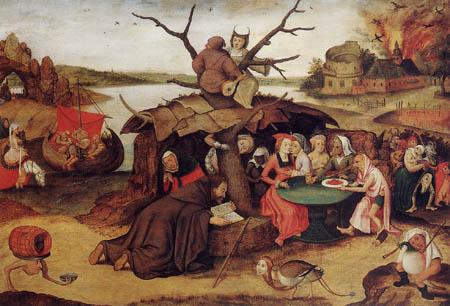 Pieter Brueghel der Jüngere - Die Versuchung des hl. Antonius