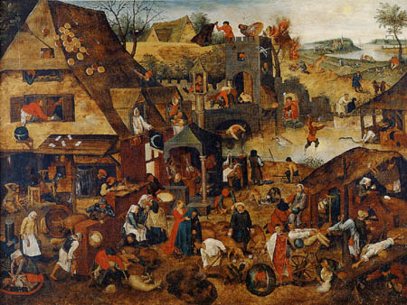 Pieter Brueghel the Younger - Flemish proverbs II
