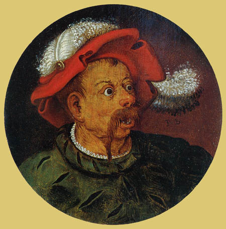 Pieter Brueghel the Younger - Portrait of a man