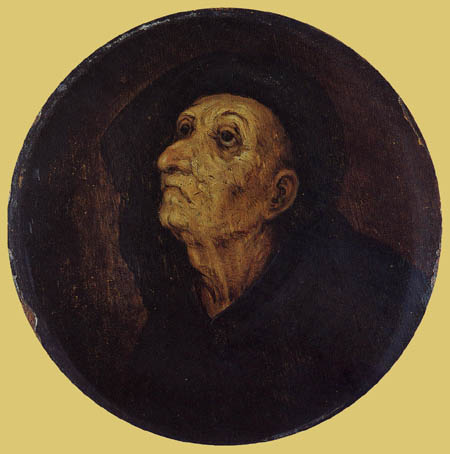 Pieter Brueghel the Younger - Portrait of a old man