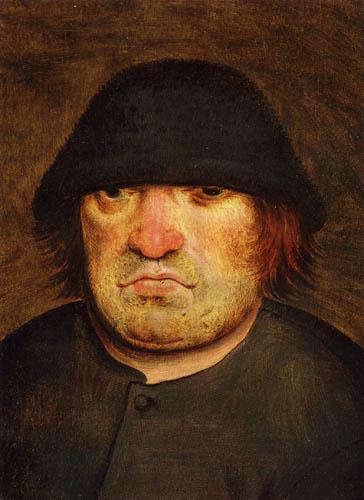 Pieter Brueghel the Younger - Portrait of a farmer