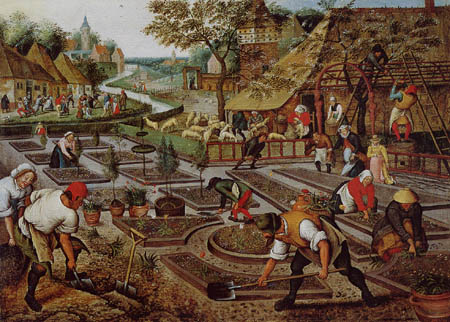 Pieter Brueghel the Younger - The Spring