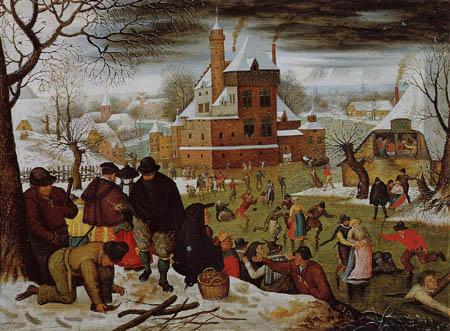 Pieter Brueghel der Jüngere - Der Winter