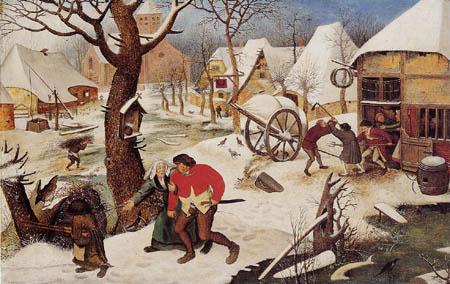 Pieter Brueghel der Jüngere - Säufer wird von seiner Frau heimgeholt