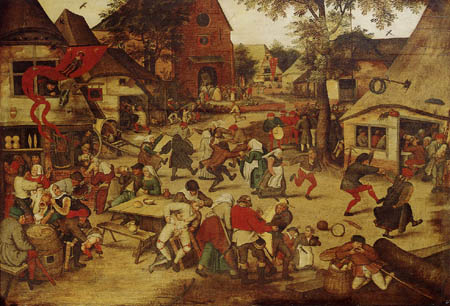 Pieter Brueghel the Younger - The parish fair of Saint Georges