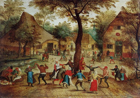 Pieter Brueghel the Younger - Dance into the May