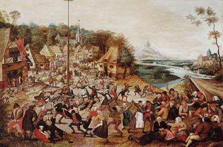 Pieter Brueghel der Jüngere - Tanz in den Mai