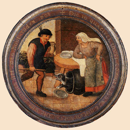 Pieter Brueghel the Younger - To find the dog in the pot