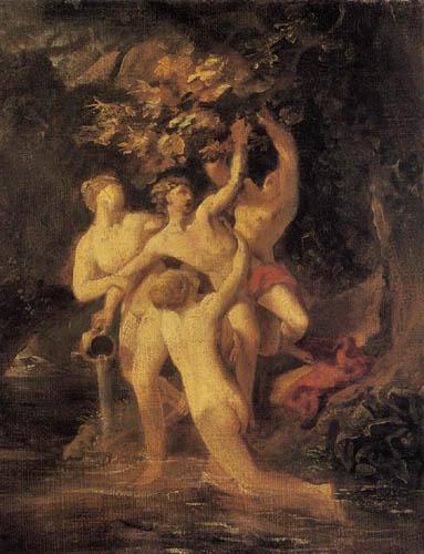 Karl Pawlowitsch Brüllow (Brjullow) - Hylas und die Nymphen