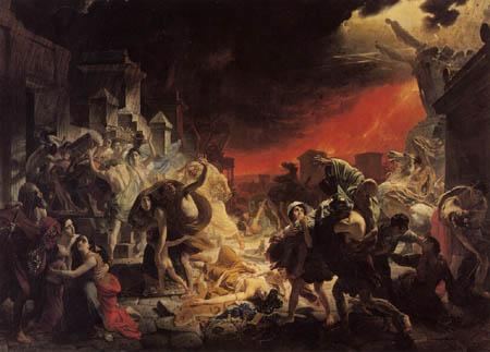 Karl Pavlovich Briullov - The Last Day of Pompeii