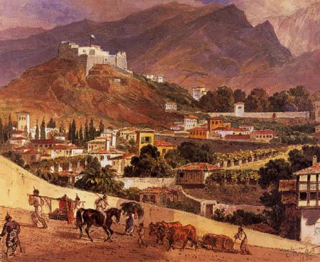 Karl Pavlovich Briullov - Landscape, Madeira