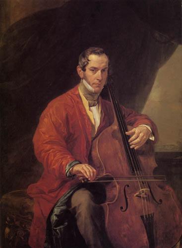 Karl Pavlovich Briullov - Portrait of count M.J. Wijelgorski
