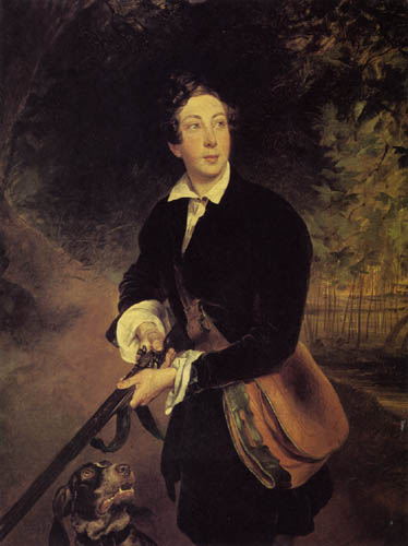 Karl Pavlovich Briullov - Portrait of count A.K. Tolstoy